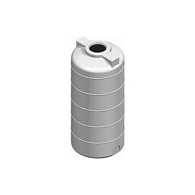 Πλαστική Δεξαμενή 300Λ Κυλινδρική Κατακόρυφη Νερού - Πετρελαίου